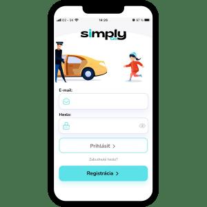 simplygo_bezpečný prevoz detí_aplikácia_bratislava_detské taxi